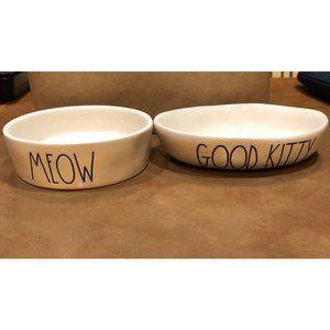 Rae Dunn Cat Bowl Set